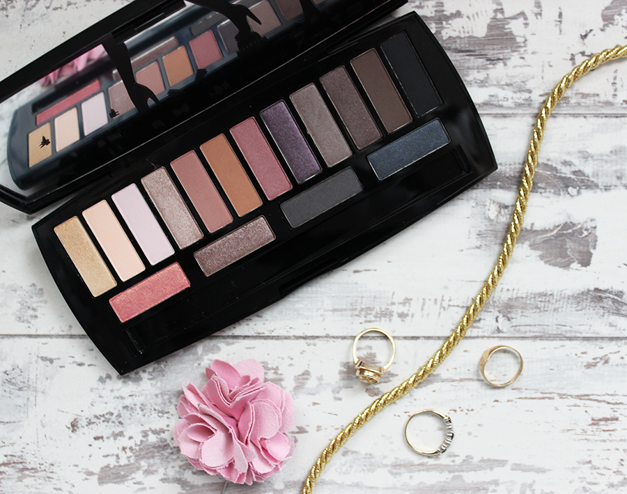 Lancome Audacity in Paris eye shadow palette review - palette close up