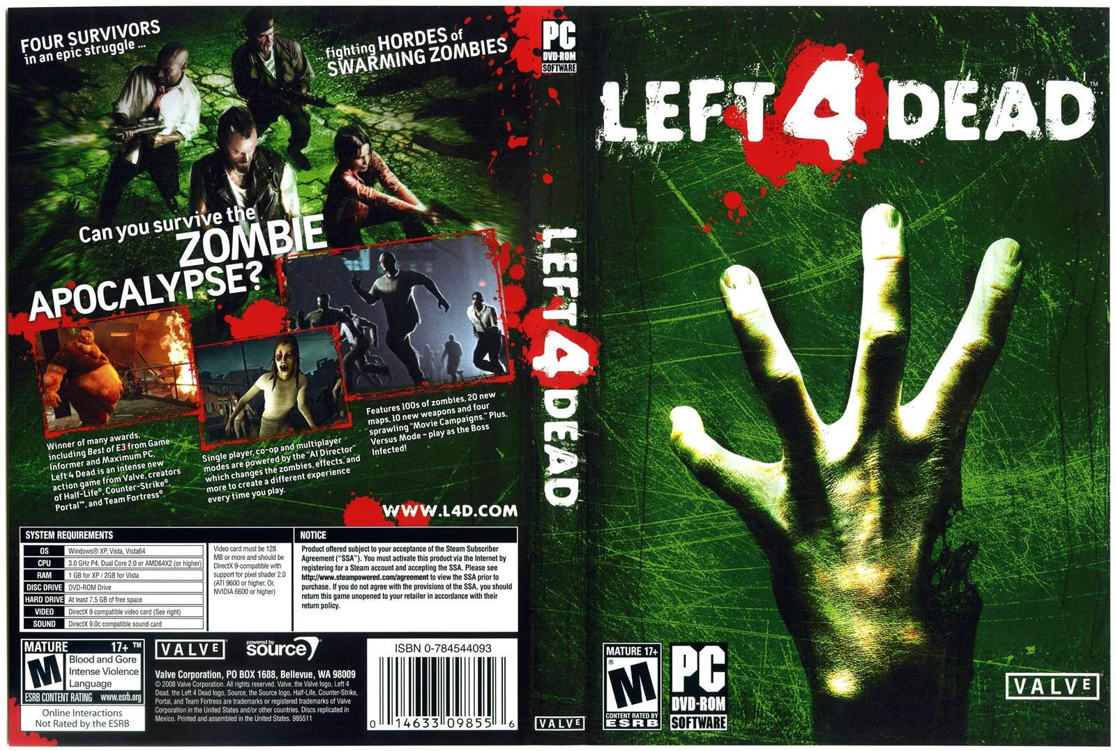 Left 4 Dead Para Pc 1 Link En Espanol