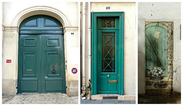 Plata y chocolate vivir en color especial puertas parisinas for Puertas blindadas antigua casa gutierrez