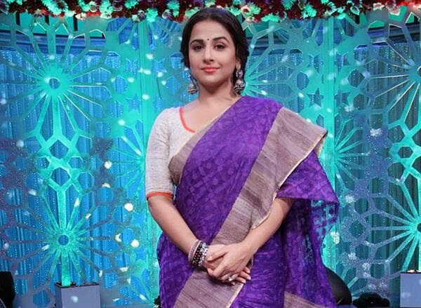 Host Vidya Balan in Women's Day special program 'No More Kamzor' on Star Plus