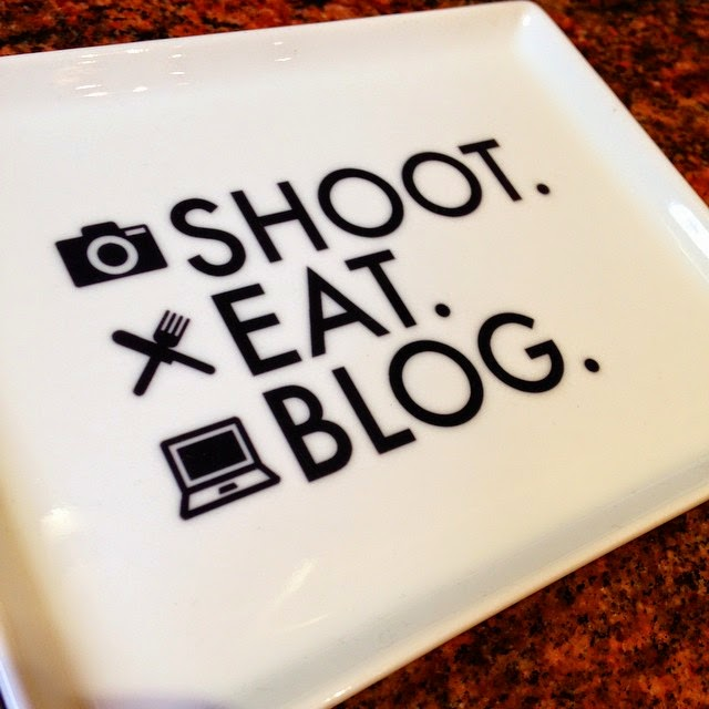 Shoot Eat Blog Plate - Blogger Gift Ideas