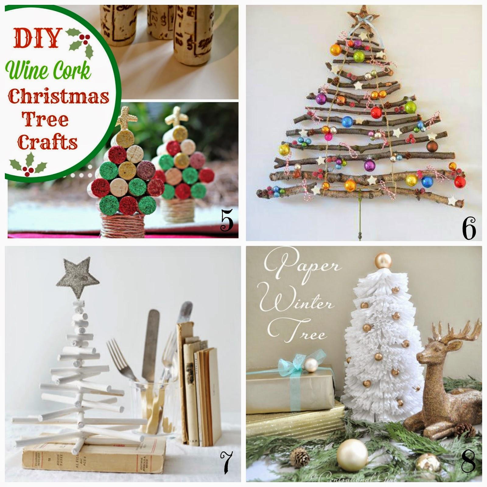 Decorazioni natalizie fai da te insoliti alberi di - Decorazioni natalizie country fai da te ...