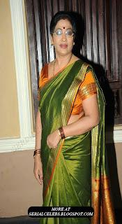 Rekha aunty in saree blouse