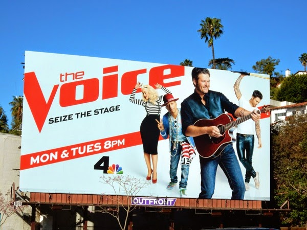 Blake Shelton The Voice season 8 billboard