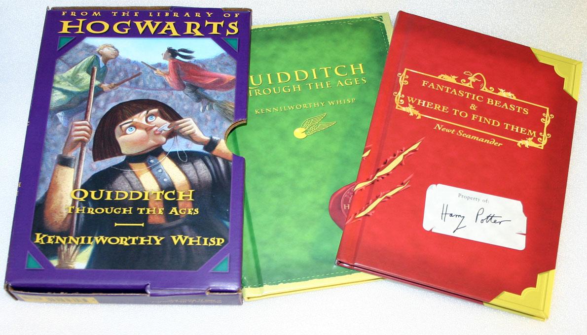 A Literary Odyssey The Harry Potter Schoolbooks
