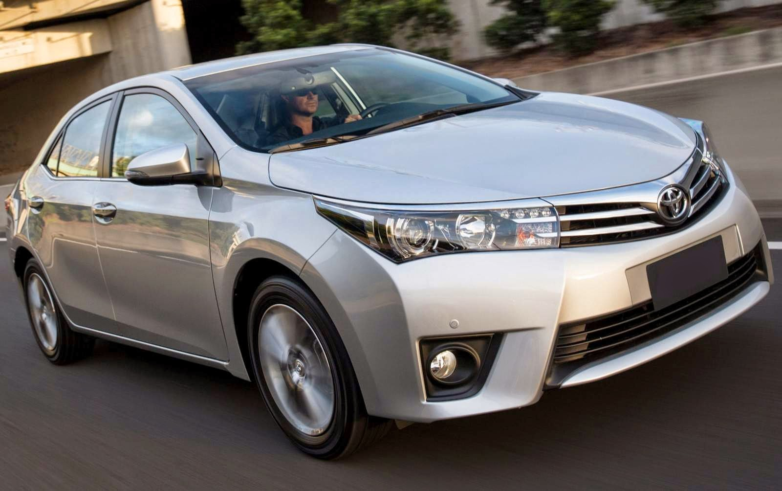 Toyota Corolla 2014 2015 sedan mais vendido do Brasil
