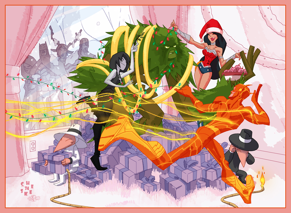 Fashion And Action Merry Marvel Amp A Happy New 52 Super
