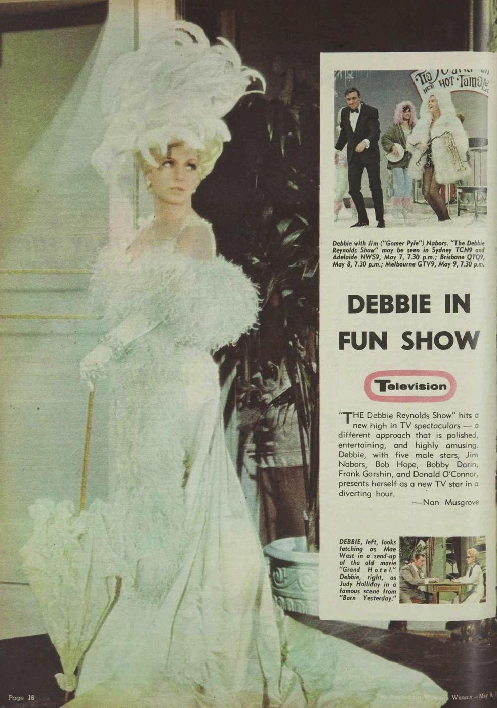 the Debbie Reynolds show, 1968