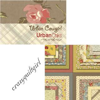 Moda URBAN COWGIRL Quilt Fabric by Urban Chiks