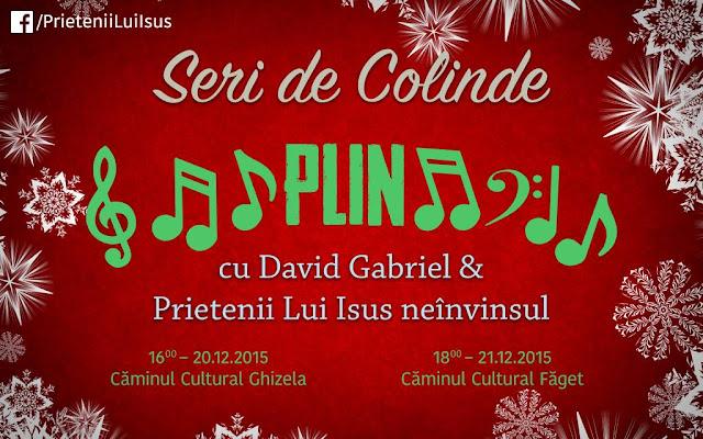 Concert de colinde la Faget - 21 decembrie 2015