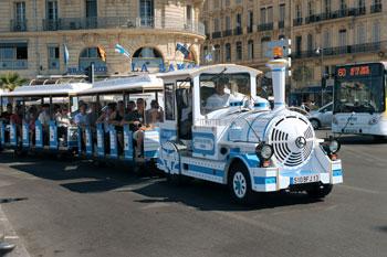 Train au dpart de Marseille - Billet SNCF TGV Lyria Thello