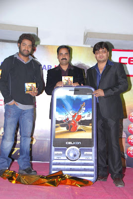 Jr.NTR Launches Celcon c777 Shakthi Mobile