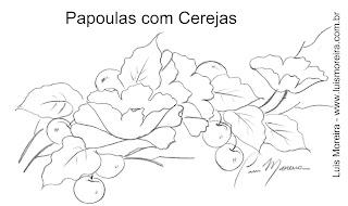papoulas e cerejas