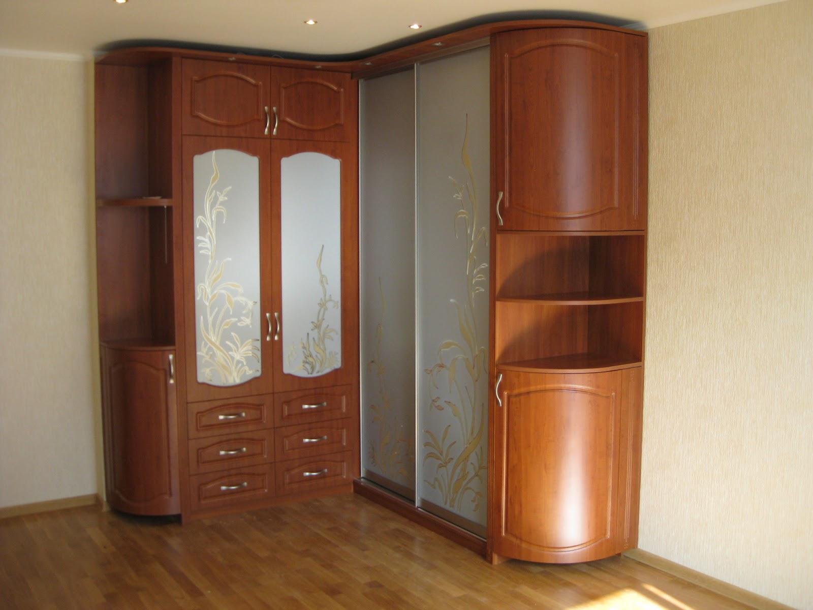 Угловой Шкаф В Гостиную Фото
