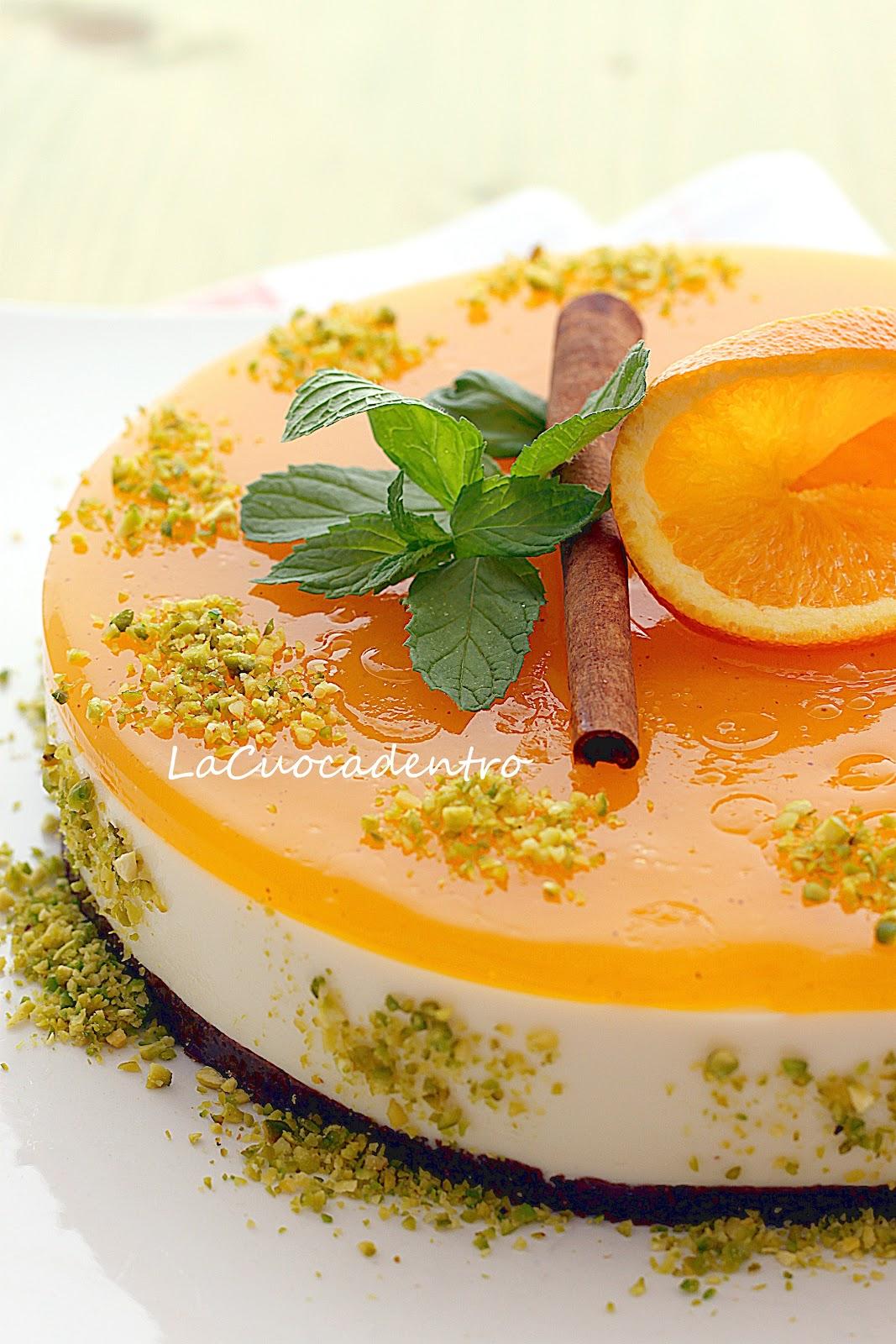 Cheesecake All Arancia