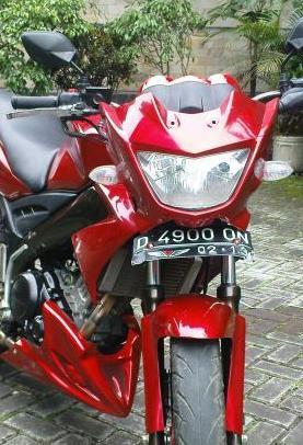 Modifikasi Stiker Motor Yamaha Vixion