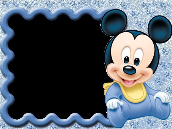 Marcos para fotos infantiles de Mickey Mouse - Imagui