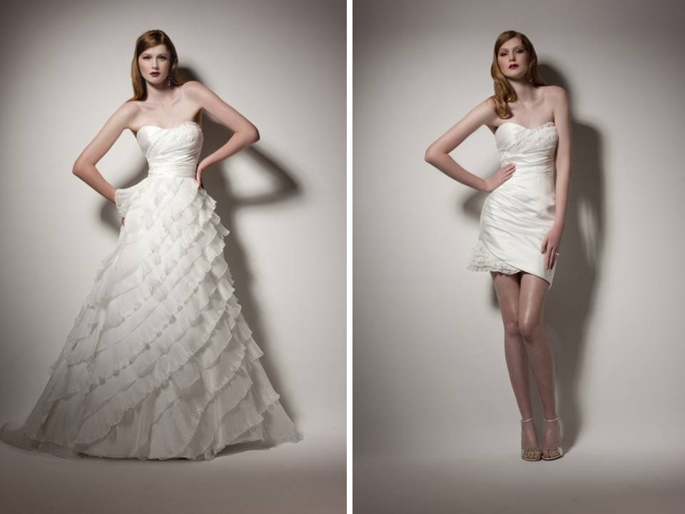 Platinum Touch Events: Convertible Wedding Dresses