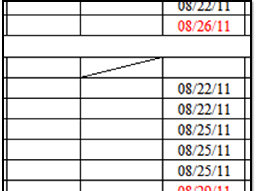 excel spreadsheets help  how to insert a diagonal line in excel spreadsheet cell