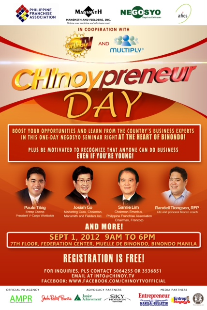Chinoypreneur Day