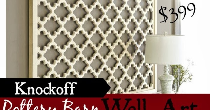 & Two It Yourself: Door Mat Wall Art Pottery Barn Knockoff