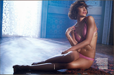 Esha Gupta Elle Magazine hot stills