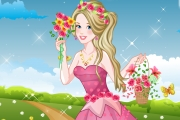 Çiçeklerin Prensesi Oyunu