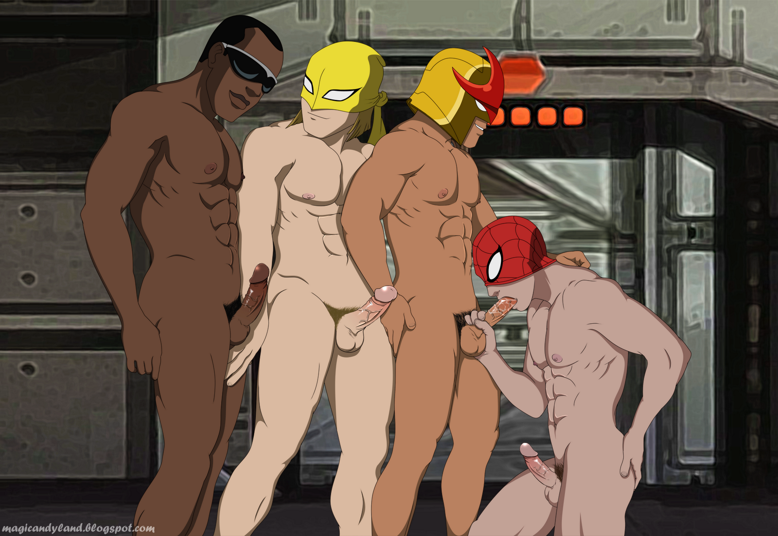 Spiderman nude sex fucking nackt movies