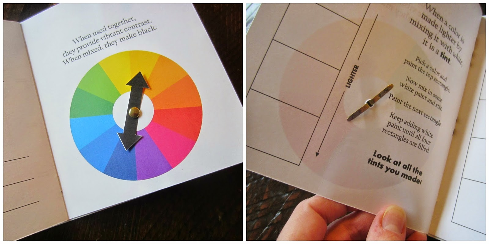 Book for color theory - Color Theory For Kids Free Printable Color Book