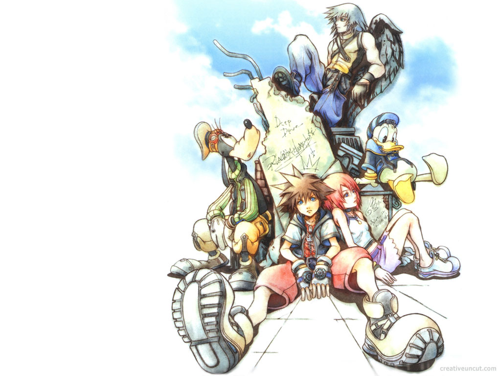 kingdom Heart HD & Widescreen Wallpaper 0.957199348045211