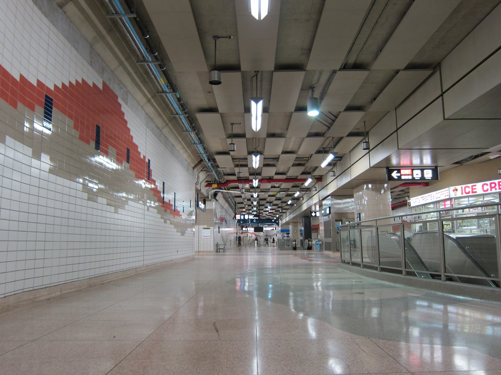 Don Mills concourse