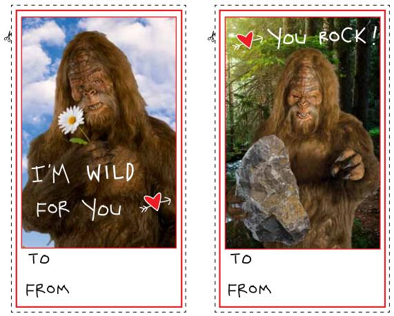 Be My Valentine From Jack Link s Beef JerkyJack Links Sasquatch Face
