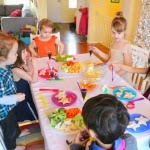 Easy party food: dinner party for kids