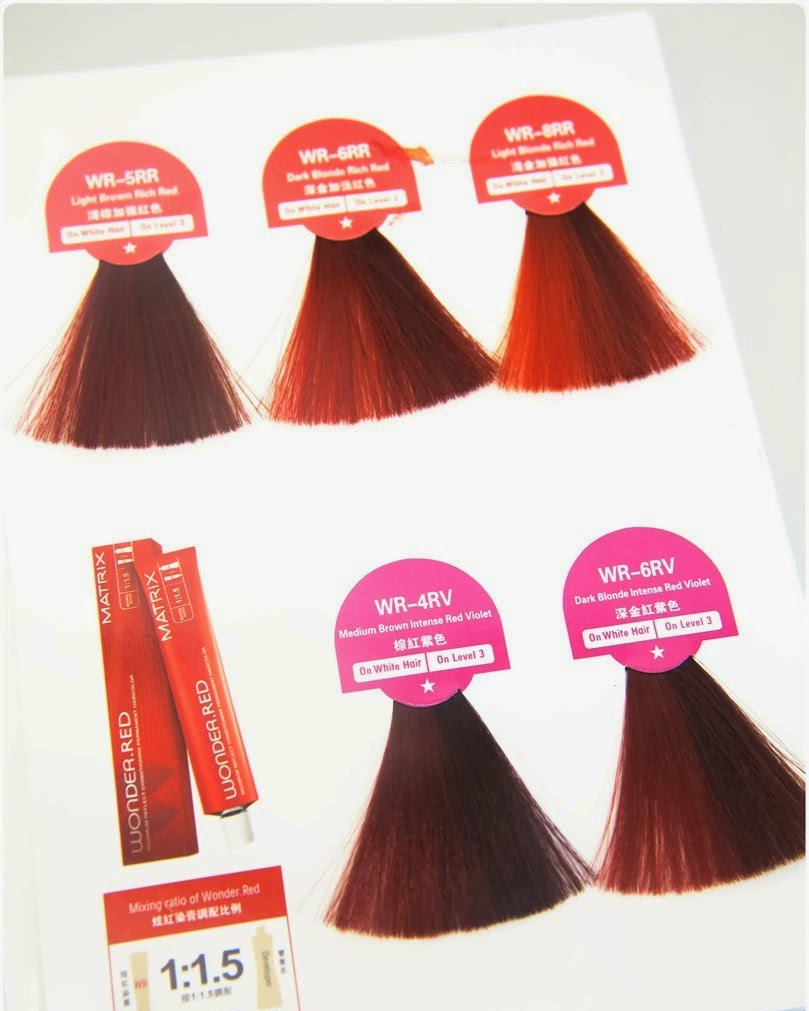 Lets Get Lost How To Dye Ombre Using Matrix Wonderred Haircolor