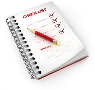 Check List para o Montador de Móveis