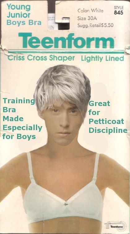 Training lingerie for boys