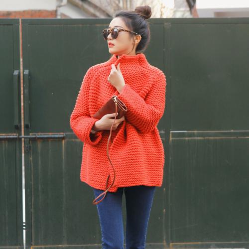 Open Knit Coat