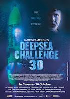James Cameron Deepsea Challenge poster malaysia