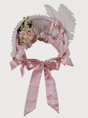 Triple Fortune - Rose Ribbon Bonnet