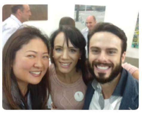 Cristina Sasaki, Danielle Ianzer, Raphael Montagner