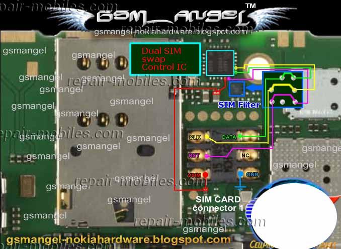 Solusi Masalah Insert Sim Nokia C2-08.C2-06,C2-03