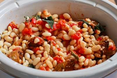 Slow Cooker Italian Sausage and White Beans with Sage (from Ilva and ...