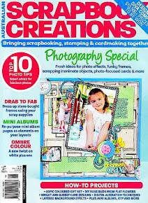 Scrapbook Creations #98 Covergirl!