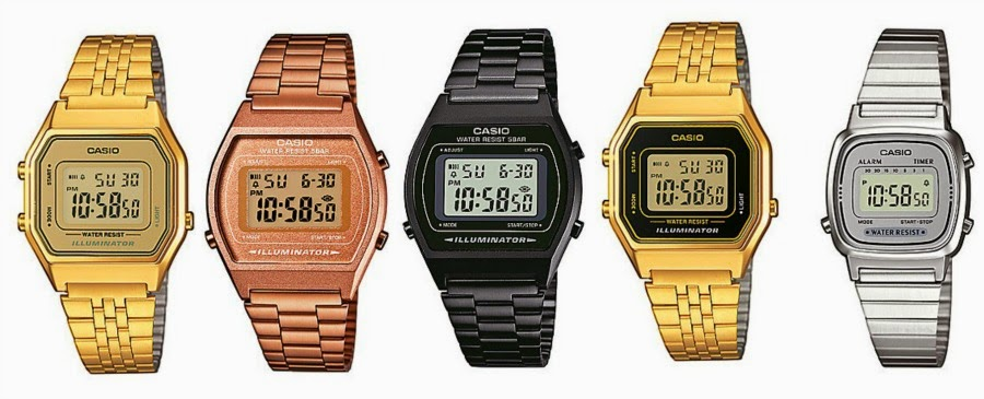 Armbanduhren Retro Stil
