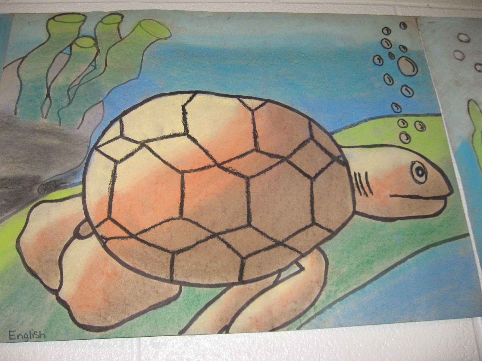 jamestown elementary art blog 5th grade cartoon sea creatures