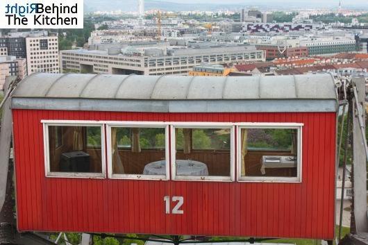 Prater Wiedeń Wien Panorama Diabelski Młyn