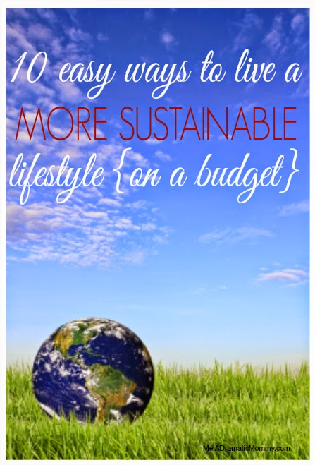 10 ideas for sustainable living