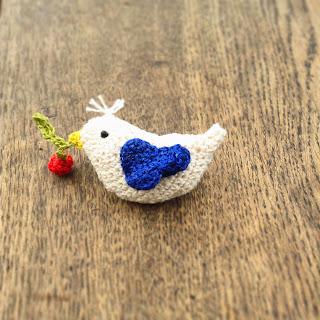 amigurumi oiseau au crochet