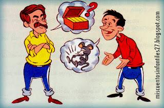 FABULA SOBRE EL ENGAÑO Y LA MENTIRA: El depositario infiel -  Cuento para niños