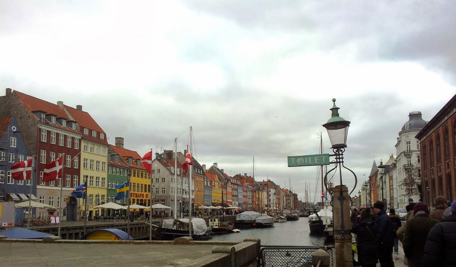 Nyhavn New Harbour in Copenhagen